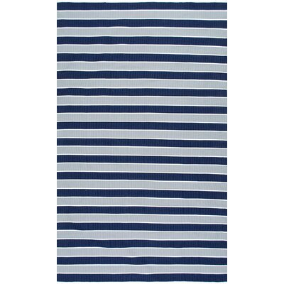 Tunney Blue Area Rug Rug Size: 5 x 8