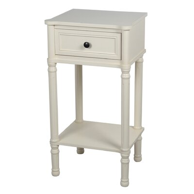 Winchendon End Table Color: Antique White