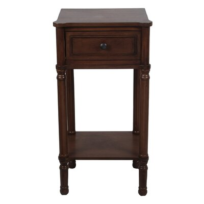 Winchendon End Table Color: Chocolate