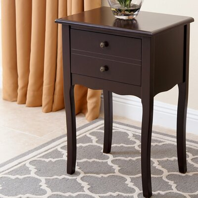 South End Table Finish: Espresso