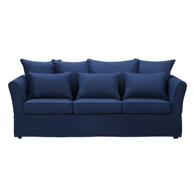 Ellington Sofa Upholstery: Nautical Blue