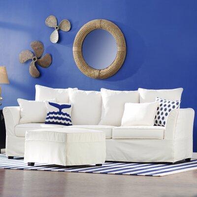 Azucena Sofa Upholstery: Ivory
