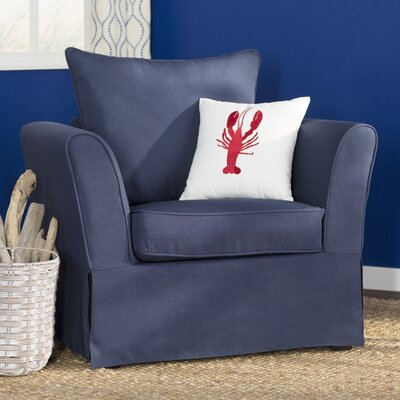 Azucena Armchair Upholstery: Nautical Blue