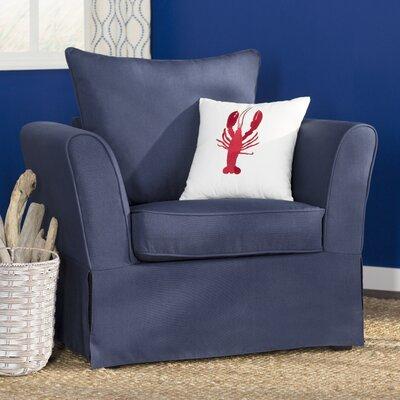 Azucena Armchair Upholstery: Nautical Blue