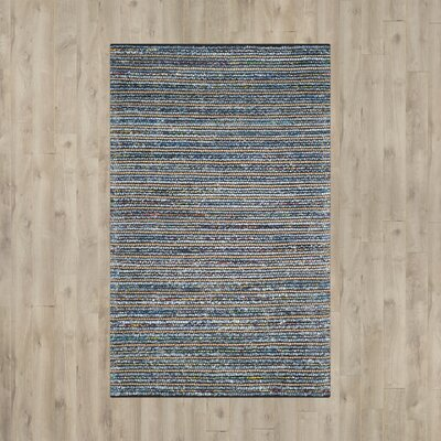 Cromwell Hand-Woven Gray Area Rug Rug Size: 6 x 9