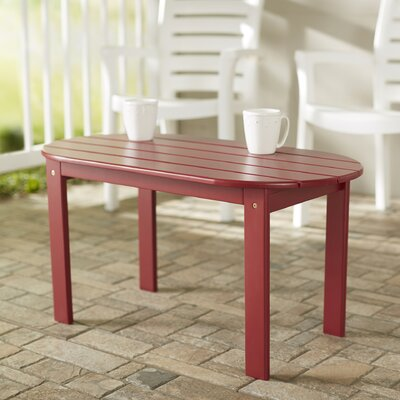Palomar Coffee Table Finish: Red