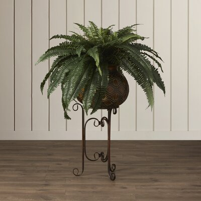 Artificial Fern Floor Plant in Planter