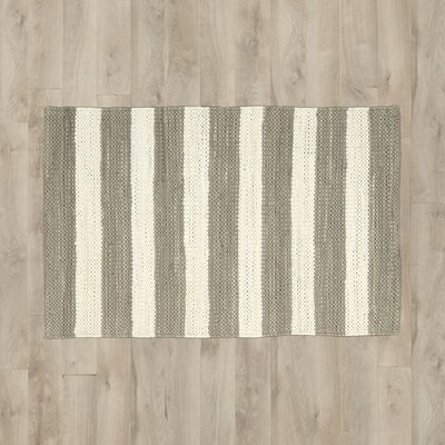 Mayfair Stripe Mocha/Cream Area Rug
