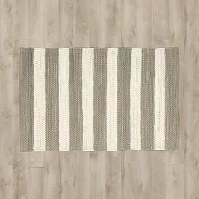 Mayfair Stripe Mocha/Cream Area Rug