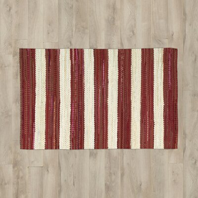 Mayfair Red/White Area Rug