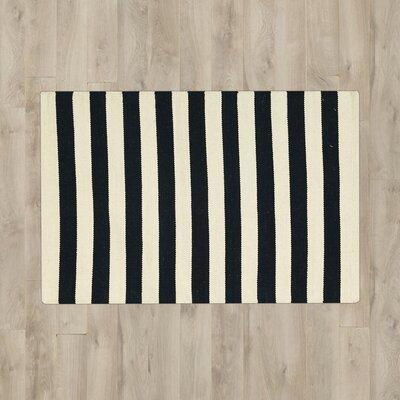 Randleman Black/White Area Rug