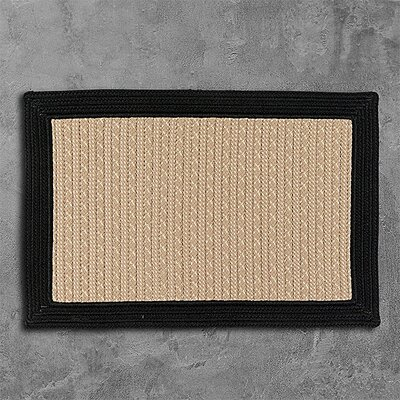 Dartmouth Hand-Woven Beige Indoor/Outdoor Area Rug Rug Size: 6 x 9