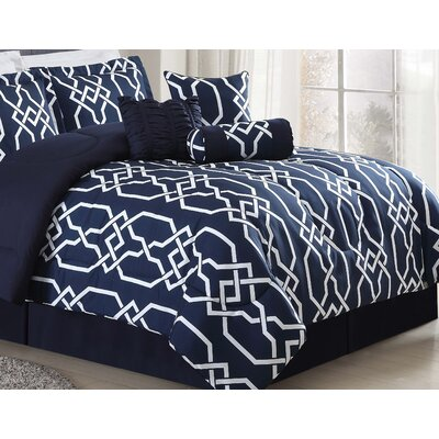 Breakwater Bay Robscott 7 Piece Comforter Set