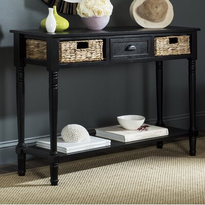 Deepwater Console Table Finish: Distressed Black