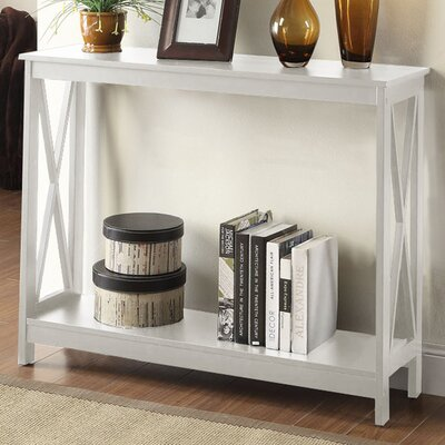 Washington Console Table Finish: White
