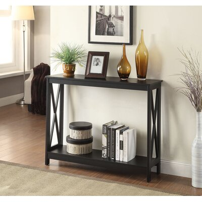 Washington Console Table Finish: Black