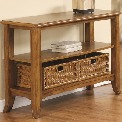 Brogden Console Table Finish: Medium Brown