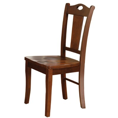 Miami Springs Side Chair Finish: Chocolate