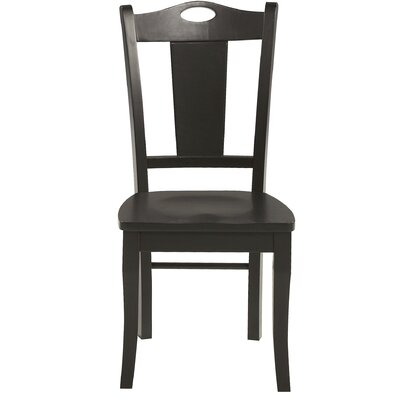 Miami Springs Side Chair Finish: Ebony