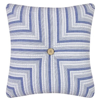 Peregrine Striped Quilt Cotton Throw Pillow