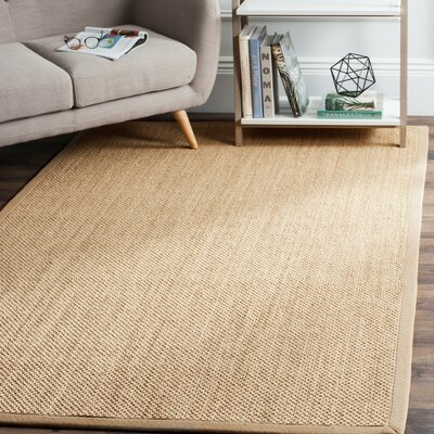 Hillsborough Maize / Linen Area Rug Rug Size: 8 x 10