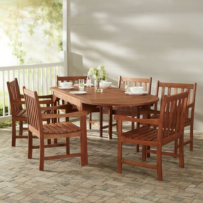 Monterry Traditional 7 Piece Dining Set