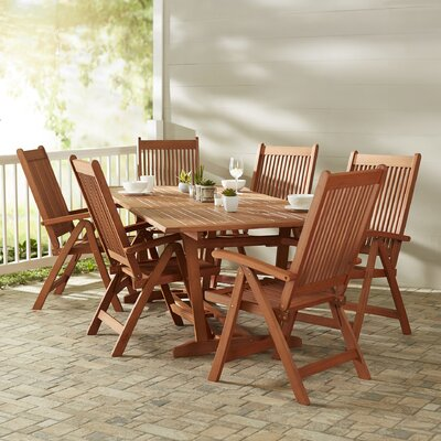 Monterry 7 Piece Indoor/Outdoor Dining Set