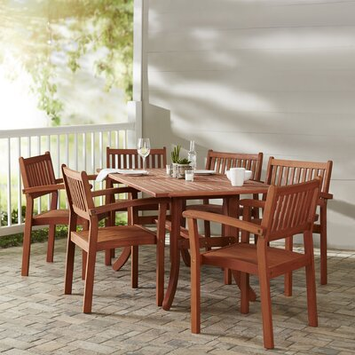 Monterry 7 Piece Patio Dining Set
