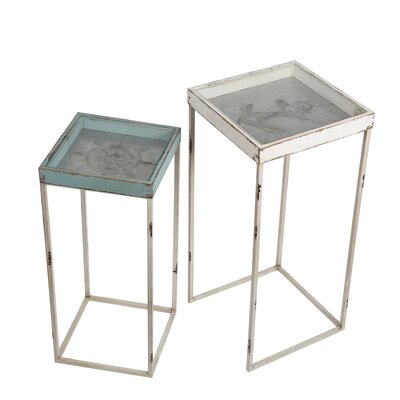 Yorklyn 2 Piece Nesting Plant Stand
