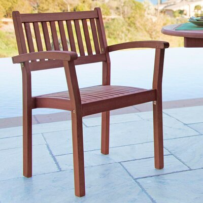 Varina Stacking Dining Arm Chair (Set of 2)