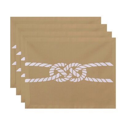 Breakwater Bay Hancock Carrick Bend Geometric Placemat