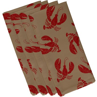 Breakwater Bay Hancock Lobster Fest Coastal Napkin