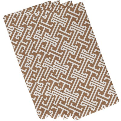 Breakwater Bay Hancock Leeward Key Geometric Napkin