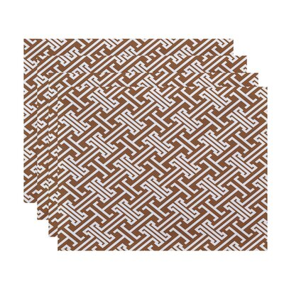 Breakwater Bay Hancock Leeward Key Geometric Placemat