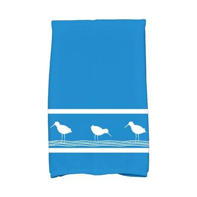 Bridgeport Birdwalk Hand Towel Color: Blue
