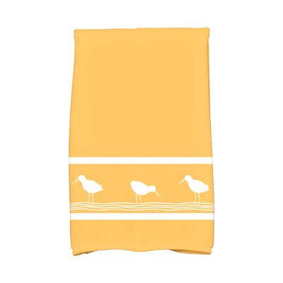 Bridgeport Birdwalk Hand Towel Color: Yellow