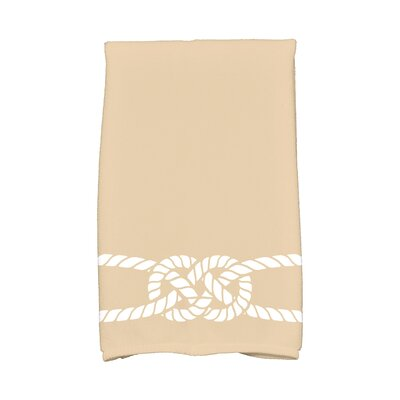 Hancock Carrick Bend Hand Towel Color: Beige/Taupe
