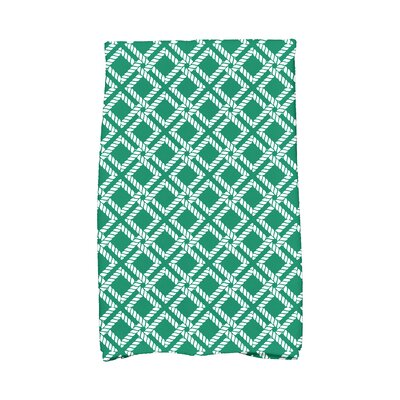Hancock Rope Rigging Hand Towel Color: Green