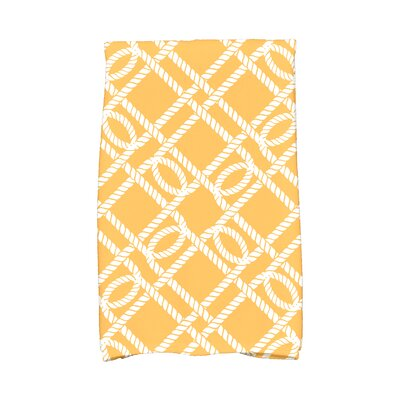 Bridgeport Know The Ropes Hand Towel Color: Yellow