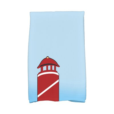 Hancock Safe Harbor Hand Towel Color: Red
