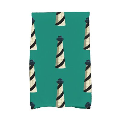 Hancock Hand Towel Color: Green