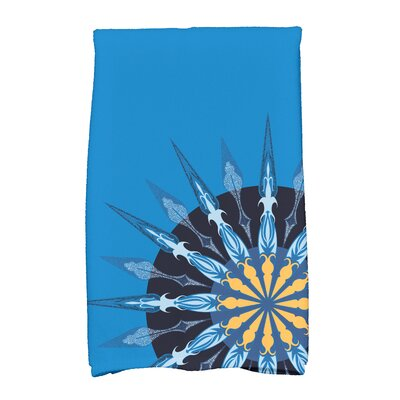 Hancock Sailors Delight Novelty Nights Print Hand Towel Color: Blue