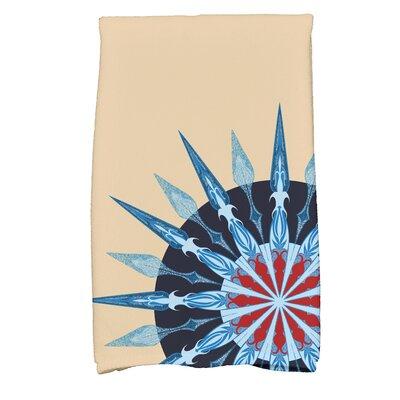 Hancock Sailors Delight Novelty Nights Print Hand Towel Color: Taupe/Beige