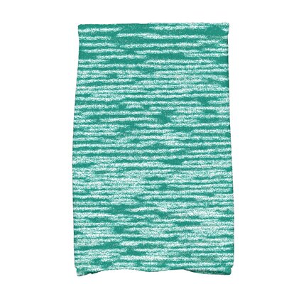 Hancock Solid Print Hand Towel Color: Green