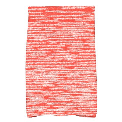 Hancock Solid Print Hand Towel Color: Orange