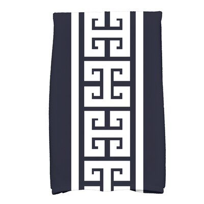 Hancock Key Novelty Print Hand Towel Color: Navy Blue