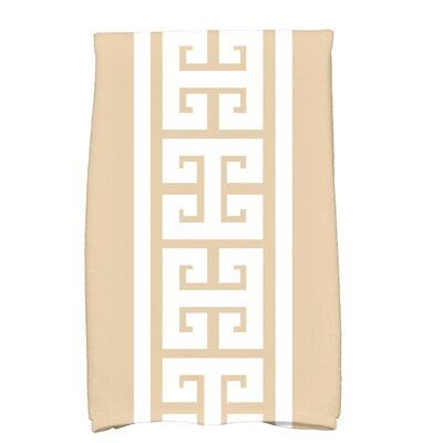 Hancock Key Novelty Print Hand Towel Color: Beige/Taupe