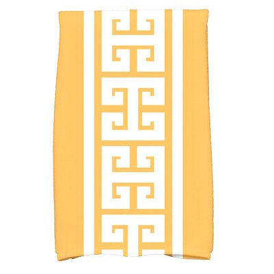 Hancock Key Novelty Print Hand Towel Color: Yellow
