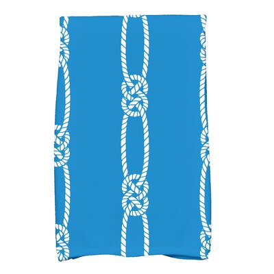 Hancock Tom Foolery Stripe Print Hand Towel Color: Blue