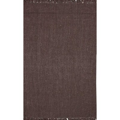 Elana Chunky Loop Chocolate Area Rug Rug Size: 76 x 96